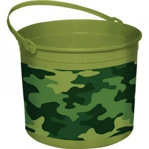 camo Easter basket
