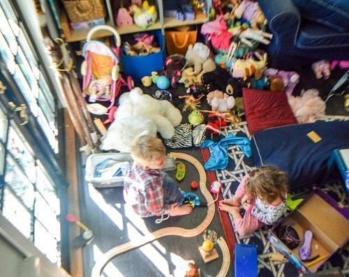 Clutter kids