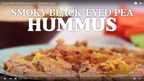 Smoky Pea Hummus