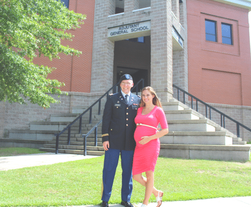What It's Like to Be an Expecting Military Mom