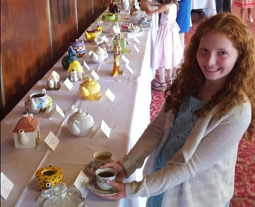 SpouseLink On Location: Mother-Daughter Tea at Fort Bragg