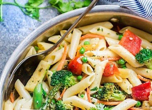 pasta primavera - life made sweeter
