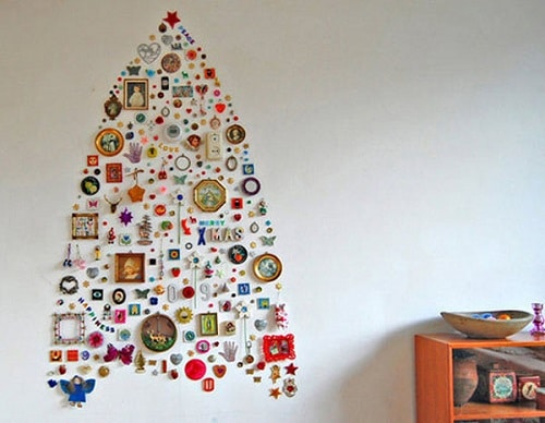 8 DIY Christmas Trees for Small Military Homes