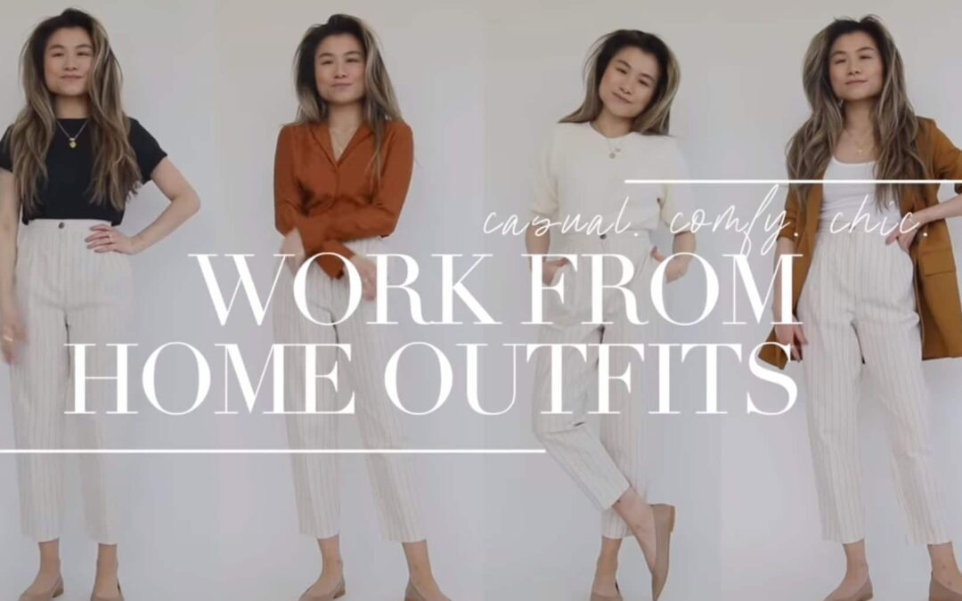 Preview of four work from home outfits