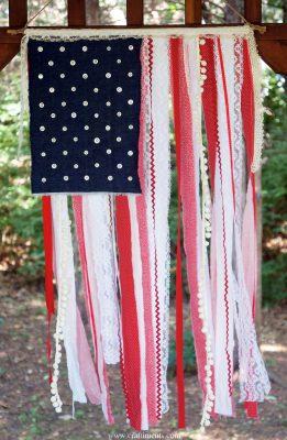 Vintage-Inspired DIY Flag