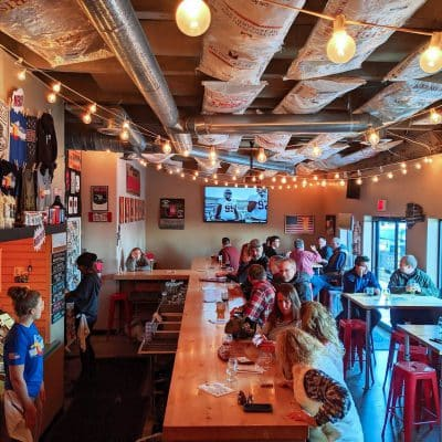 Taproom at Red Leg Brewing Company in Colorado Springs