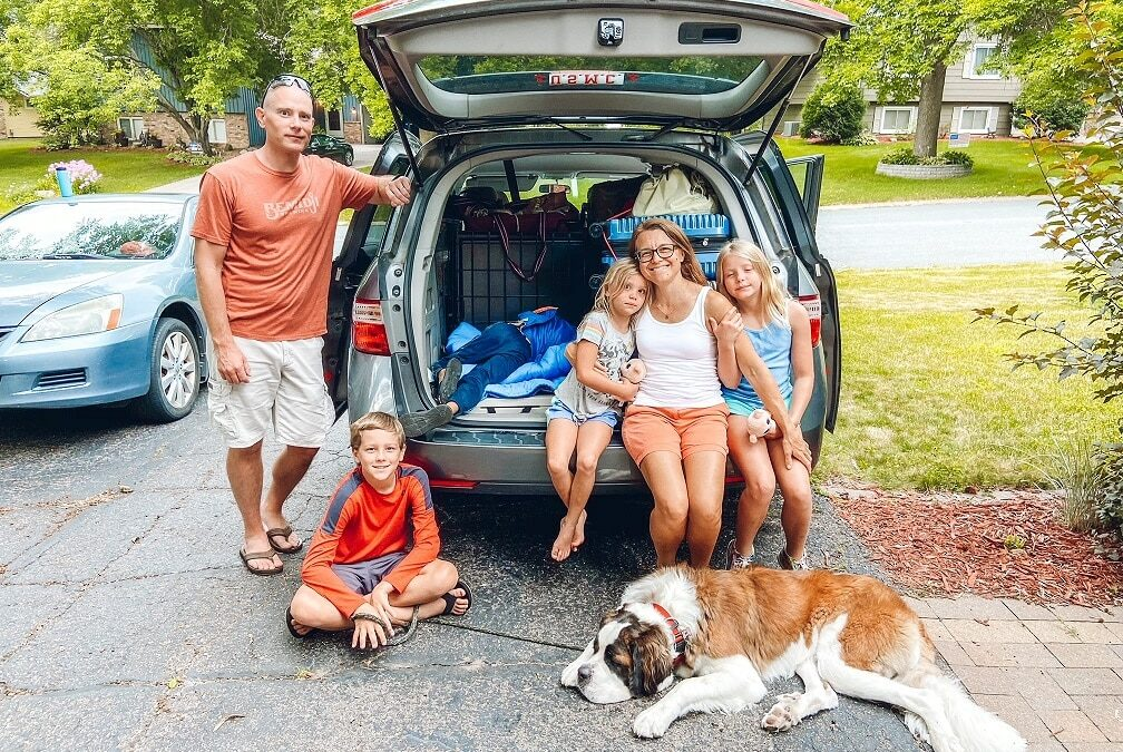 MilSpouse Moments: Staying Sane on a Road Trip with Kids