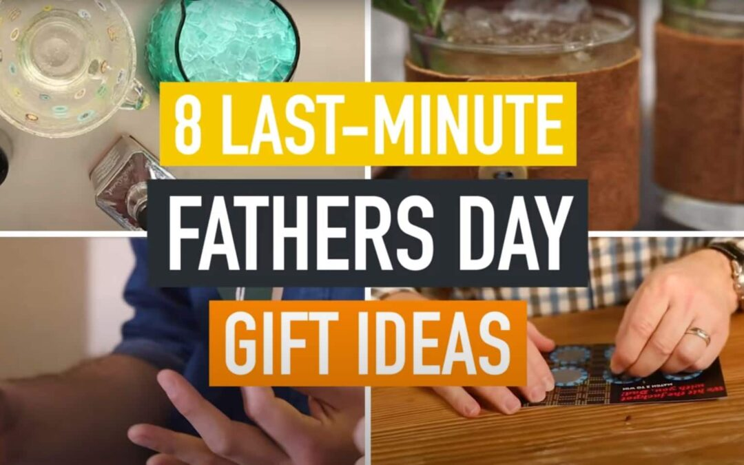 8 Last-Minute DIY Father's Day Gift Ideas
