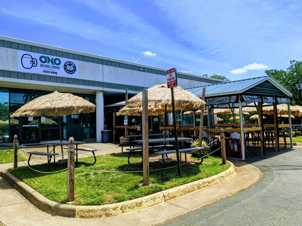 Outside Patio at Ono Brewing Company