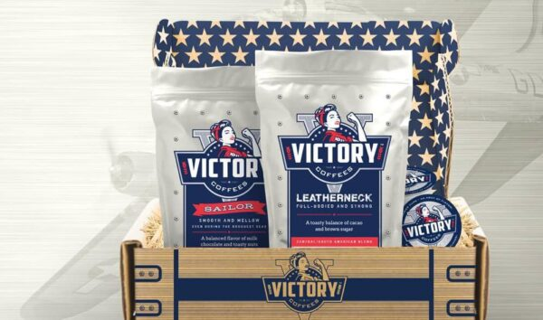 Victory Coffees Leatherneck and Sailor blends