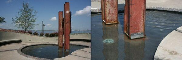 911 Memorial at Lake Charles